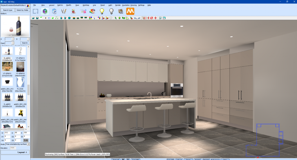 Adjusting Lighting In Kd Max Kitchen Software Solutions Cabinets By Computer