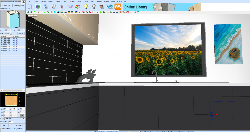Using The Material Editor To Apply Images To Your Kd Max Drawings Kitchen Software Solutions