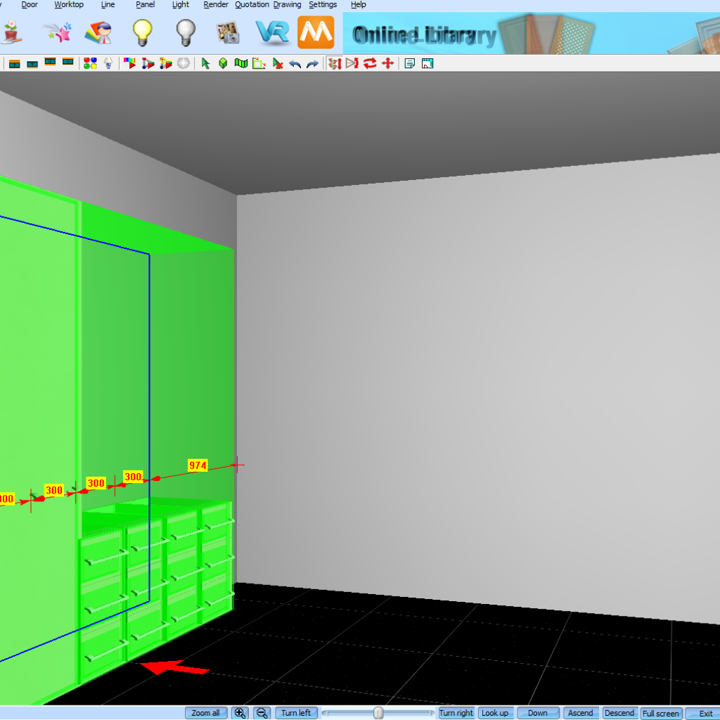 Move Multiple Cabinets In KD Max