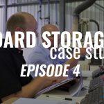Inventory storage system board material handling SCM Flexstore CADCode