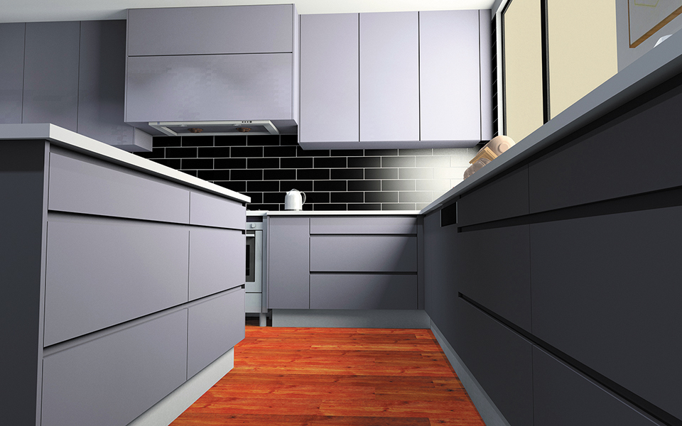 Cabinets by Computer - Kitchen Cabinets Designs
