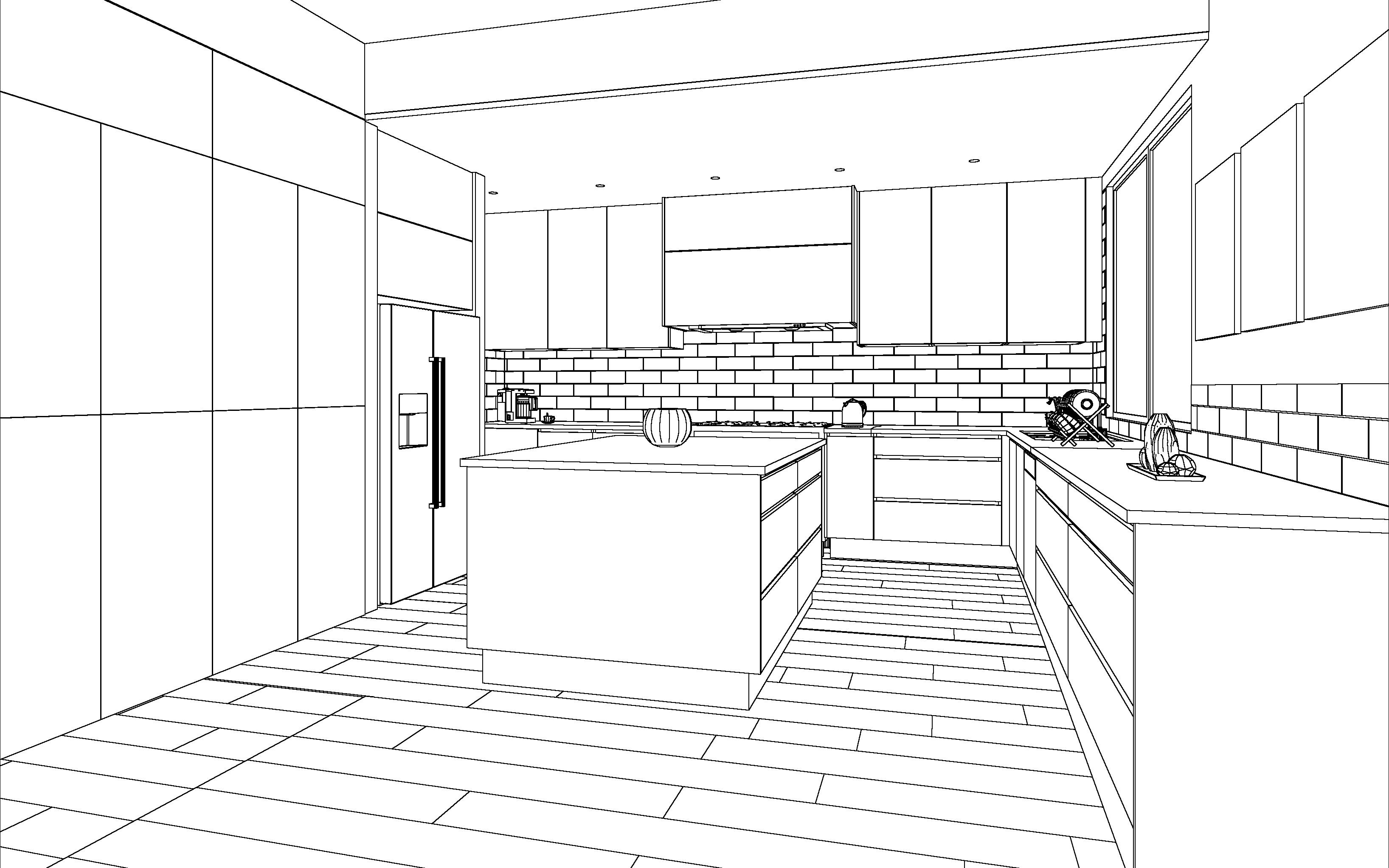 Cabinets by Computer - Kitchen Design