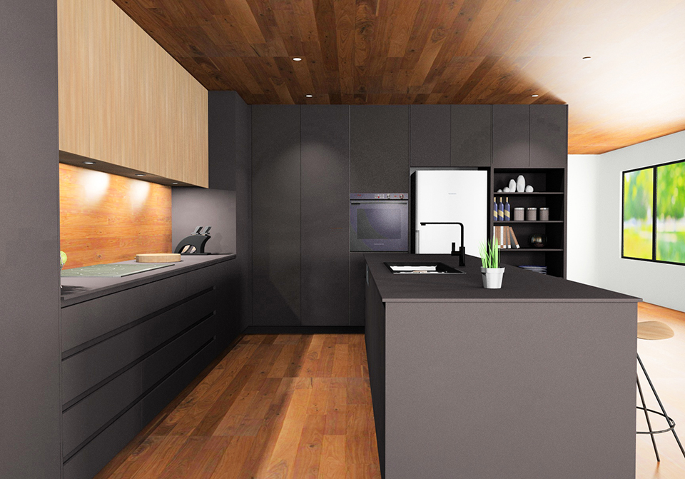 Cabinets by Computer - Kitchen Design Render
