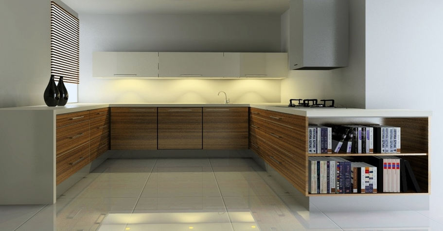 Kitchen Design Using KD Max 3D Design Software