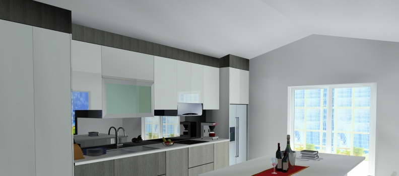 Creating a Pitched Ceiling in KD Max