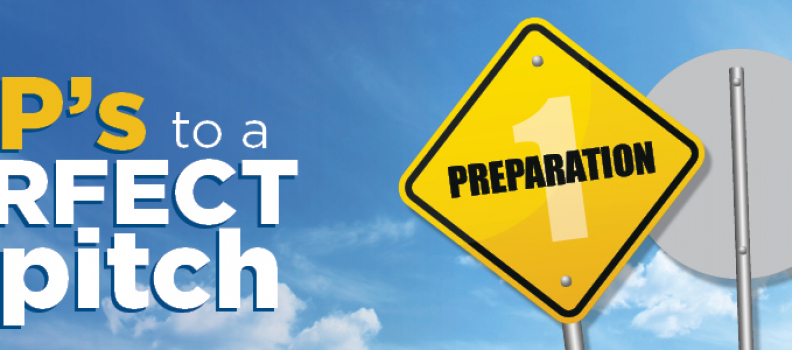 The 3 P's to a Perfect Pitch: Preparation