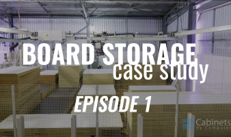 Inventory Storage System with CADCode and SCM Group