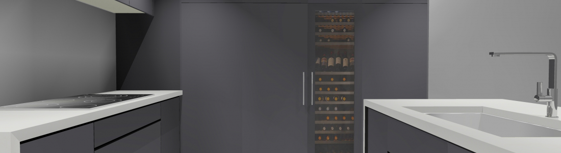 Creating a Wine Cabinet in KD Max